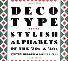 Image result for deco type book