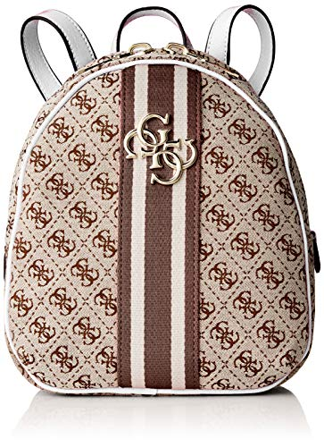 (Guess Guess Vintage Backpack, Women's White, 23x27.5x9.5 cm (W x H L))