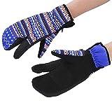 1 Pair Winter Gloves, 3 Sizes BOODUN Winter Thermal Warm Ski Snowboard Snow Gloves Women for Outdoor Sports