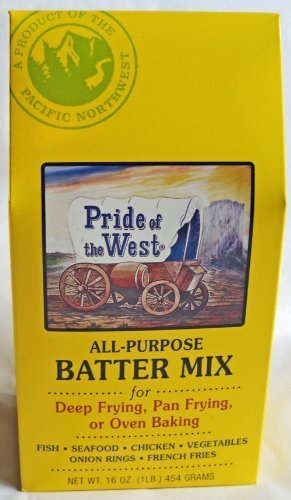Pride of the West All Purpose Batter Mix, 16 Oz Box (3 Pack)