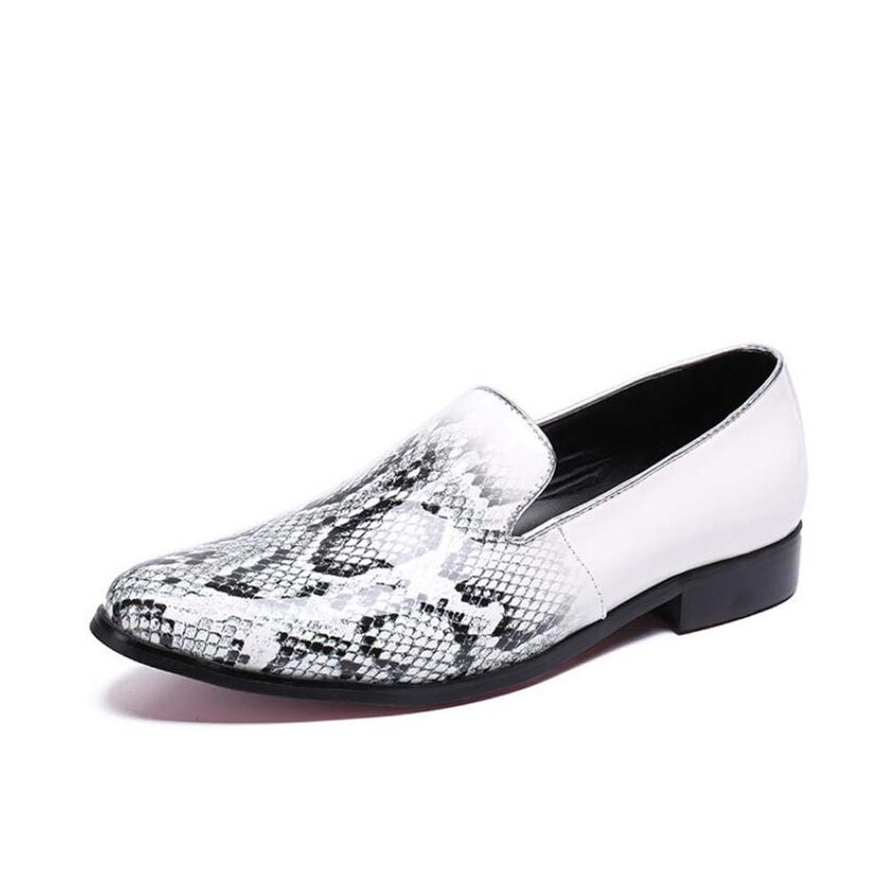 Männer Pumpen Loafer Slip Lederschuhe On Serpentine Muster Business Casual Lederschuhe Slip Hochzeitskleid Schuhe Mode Friseur Faule Schuhe Atmungsaktive Oxford Schuhe Eu Größe 37-46 9a22f2