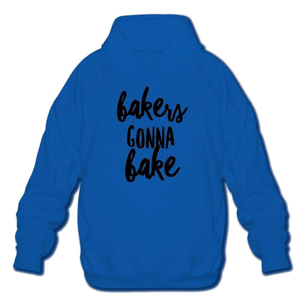 Sweatshirt Mens Long Sleeve Cotton Hoodie Bakers Gonna Bake