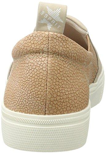 Sneakers Esprit Damen Semmy Slip Beige (pelle Beige 280)