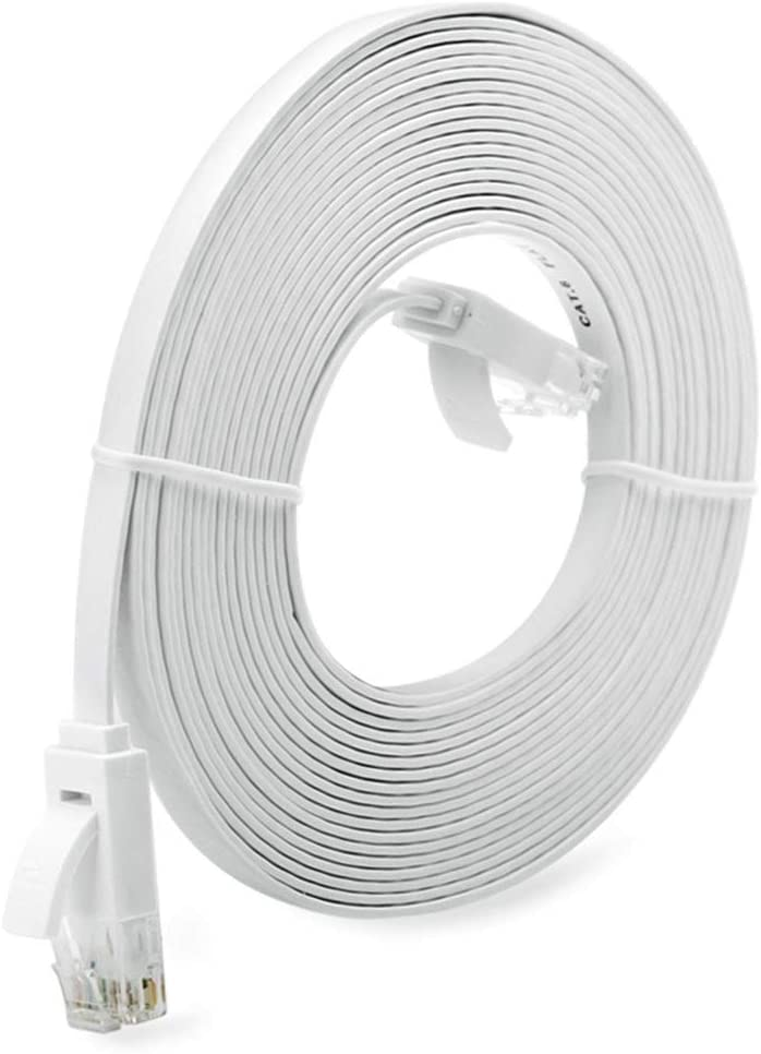 1//3//5//10M Super Long RJ45 Super High Speed Flat Type Ethernet Network Cable 10M