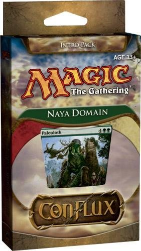 Magic the Gathering: Conflux - Theme Deck - Intro Pack - Naya Domain