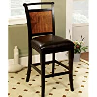247SHOPATHOME Idf-3034PC Dining-Chairs, Black