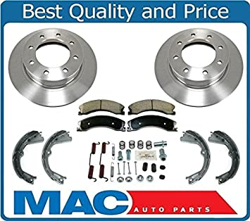 2014 2015 for Nissan NV2500 Coated Disc Brake Rotors and Ceramic Pads Front