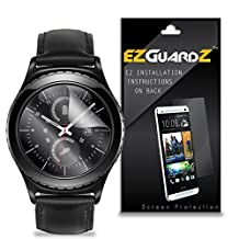 (6-Pack) EZGuardZ Screen Protector for Samsung Gear S2 Classic (Ultra Clear)