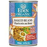 Eden Foods Organic Baked Beans With Sorghum & Mustard, 398 ml