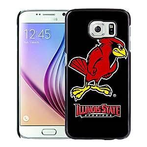 NCAA Illinois State Redbirds 5 Black Popular Custom Design Samsung Galaxy S6 G9200 Phone Case