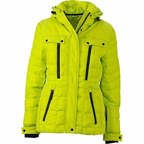 ski veste matelasse JAMES sports acide neige JN1101 amp;NICHOLSON FEMME anorak Jaune d'hiver doudoune xUtnnwAp0q