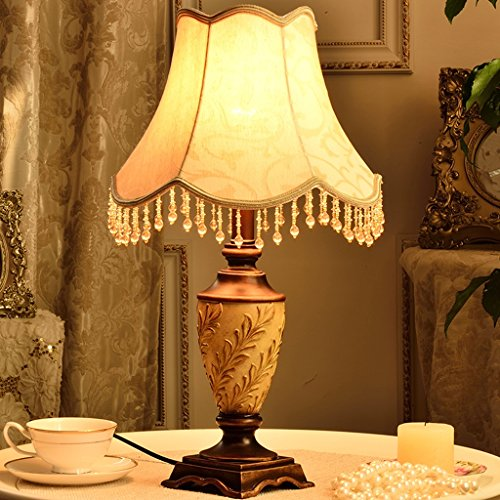 Table Lamp Coffee Table Lamp -51cm European - Style Table Lamp Simple Bedroom Bedside Lamp French Lights