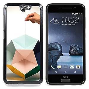 "Planetar ( Texto minimalista Contaminación Ambiental"" ) HTC One A9 Fundas Cover Cubre Hard Case Cover"