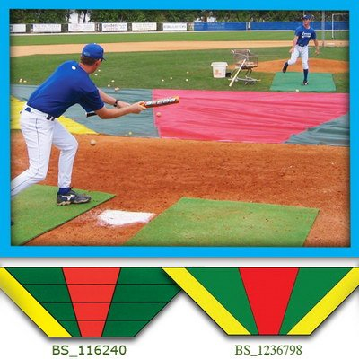Bunt Zone Infield Protector/Trainer-SM - Baseball by Aer-Flo