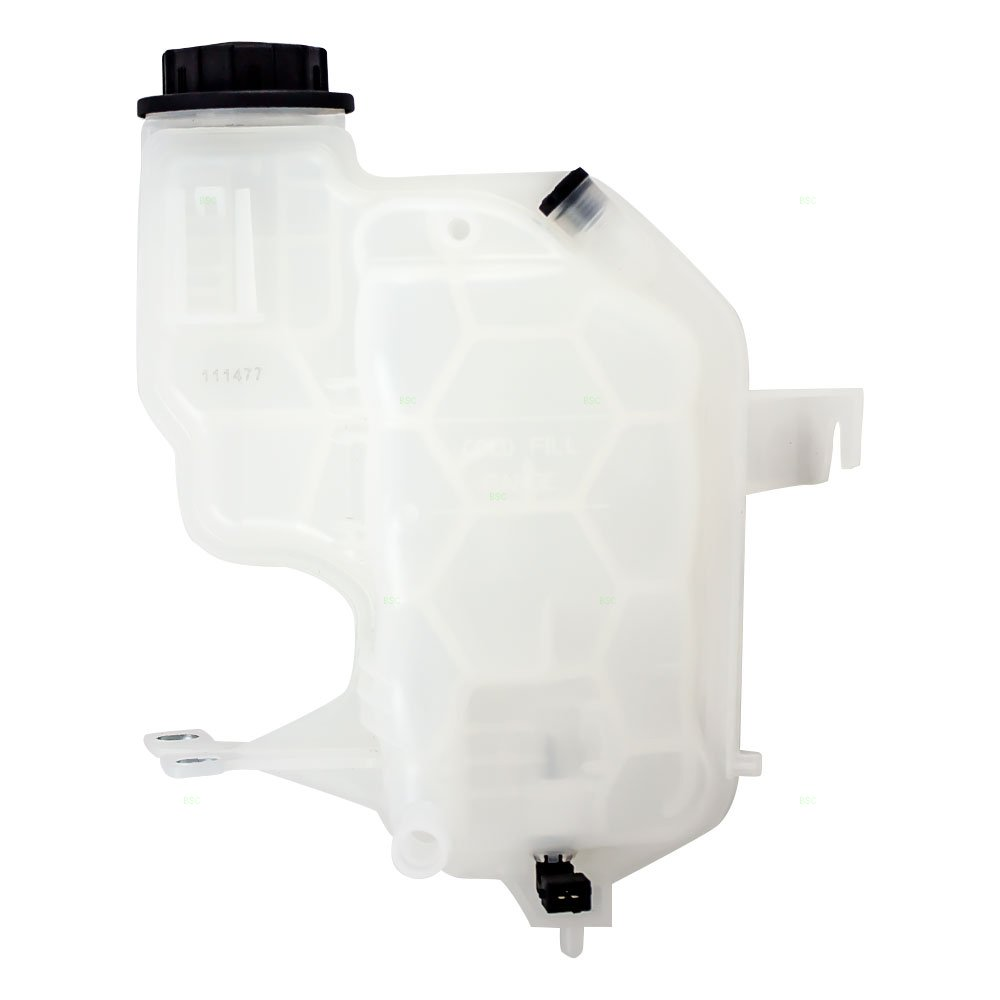 Coolant Overflow Recovery Tank Expansion Reservoir Bottle w/Cap & Sensor Replacement for Land Rover SUV LR020367