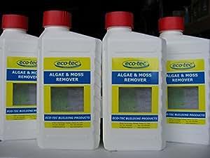 ECO-Tec algas y MOSS 2 x 1 litro botellas Concentrate para quitar