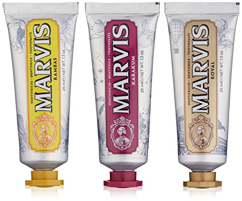 Flavored Toothpaste (Marvis Wonders Of The World Toothpaste Set, Limited Edition)