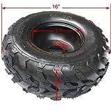 "16x8-7 7"" Black Left Front Rear Wheel Rim Review and Comparison"