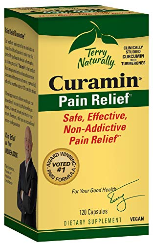 Terry Naturally Curamin Pain Relief – 120 Capsules