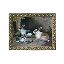 Pure Country Weavers Lapin/Wool Woven Wall Tapestry [Kitchen]