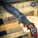 """9"""" SPRING ASSISTED OPEN Tactical Blade Folding POCKET KNIFE Wood Steampunk + free eBook by ProTactical'US 4"""