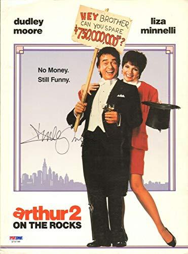 Dudley Moore Signed Original Arthur Movie Press Kit Folder COA Autograph - PSA/DNA Certified from HollywoodMemorabilia