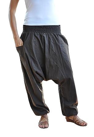 virblatt – Yogahose Haremshose Damen und Herren Yoga Kleidung - Unüberlegt  br 676f06d563