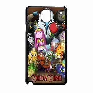Adventure Time Legend of Zelda 4 Case funda for Note 3 Case funda (Black Plastic)