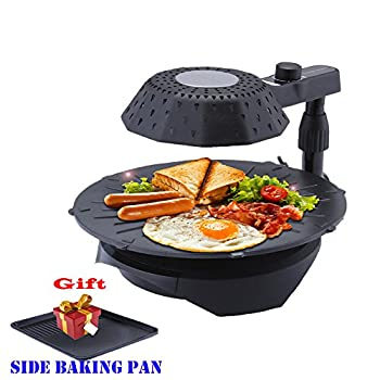 3D smokeless electric grill infrared heat grill for home BBQ Grill Non-stick Pan LY-005