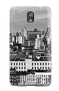 DibevRv98vpckX Case Cover, Fashionable Galaxy Note 3 Case - Photography Black And White