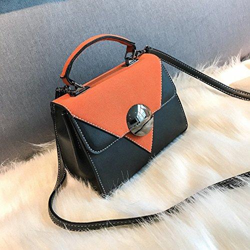 Pu Schulter Tasche Weibliche Peeling Kleine Quadratische Paket Diagonal Paket Weibliche Farbe Disc Trendy Handtaschen , Grün
