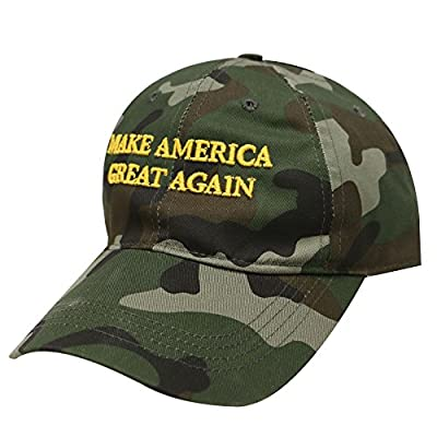 C104 Trump Make Ameria Great Again Camouflage Baseball Cap