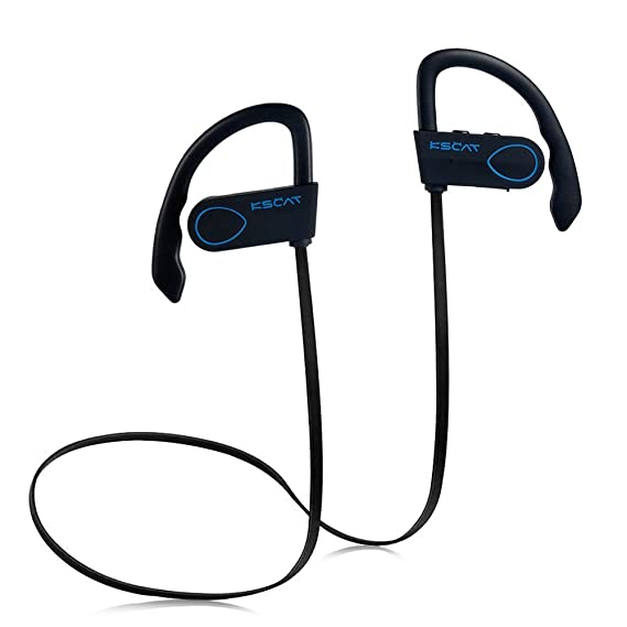 c0e4e0ab21e Amazon.com: KSCAT Bluetooth Headphones Wireless 4.1 Magnetic Earbuds Stereo  Earphones Secure Fit for Sports with Built-in Mic Noise Cancelling (BC03):  Cell ...