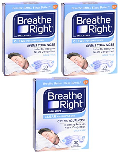 Breathe Right Nasal Strips Sensitive product image