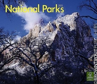 National Parks 2010 Deluxe Wall (Multilingual (Park 2010 Wall Calendar)