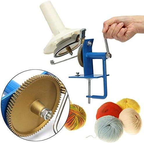 Queenwind 金属大きな糸繊維ウールストリングボールワインダー手操作 Needlecraft ツール