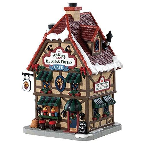 Lemax Village Julien's Belgian Frites Cafe #85371