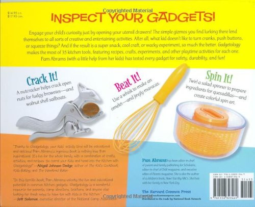 Gadgetology: Kitchen Fun With Your Kids, Using 35 Cooking Gadgets For Simple Recipes, Crafts, Games,. hasta Funda Gameday email reafinar Windows English catering