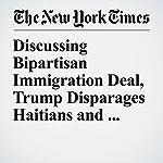 Discussing Bipartisan Immigration Deal, Trump Disparages Haitians and Africans | Julie Hirschfeld Davis,Sheryl Gay Stolberg,Thomas Kaplan