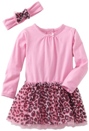 Vitamins Baby Girls' 2 Piece Dress Set