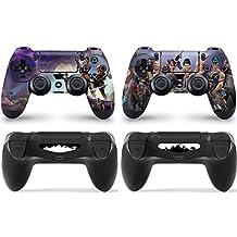 GNG 2 x FORTNITE Playstation 4 PS4 Controller Skins Full Wrap Vinyl Sticker