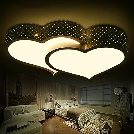 Lilamins Luz de techo led de iluminación de la habitación de ...