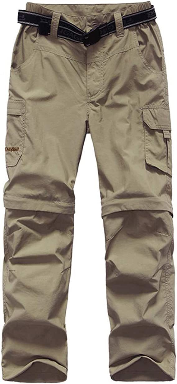 Casual Outdoor Quick Dry Boy Scout Uniform Trial Pants Trousers Kids/'Cargo Pants Youth Boys Hiking Pants