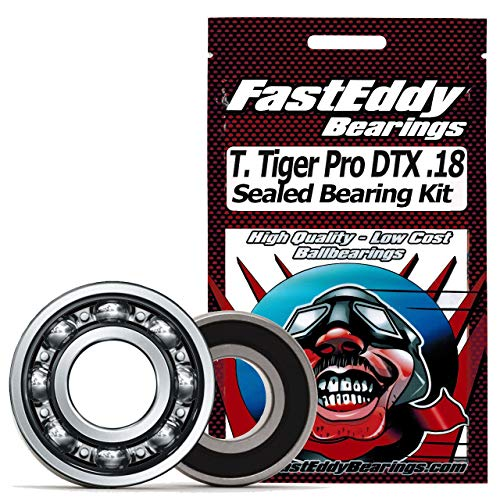 Thunder Tiger Pro DTX .18 Sealed Ball Bearing Kit for RC Cars