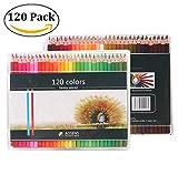 Best US Art Supply Kid Art Supplies - 120 Pack Colouring Hexagonal Pencils, Unique Coloured Art Review