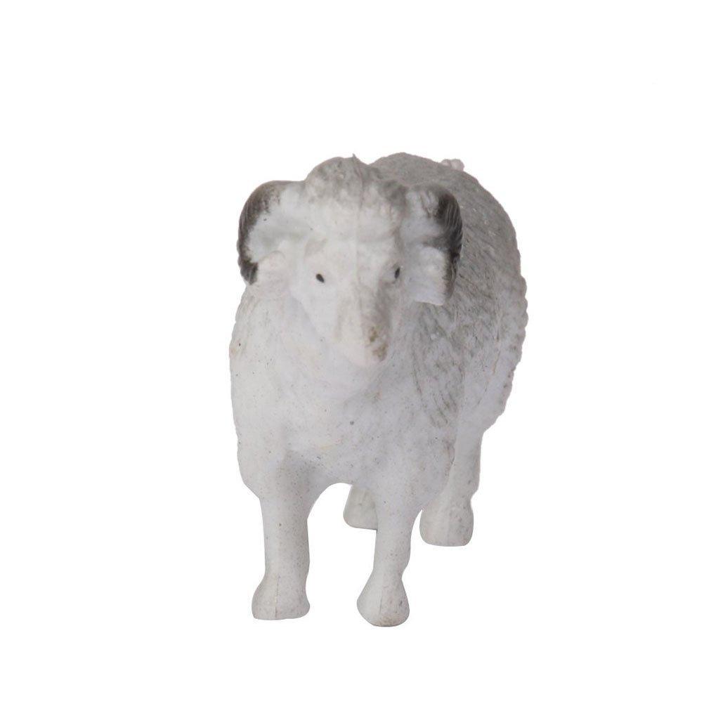 NUOLUX Farm Animal Set Plastic Sheep Figure Toy Multicolor 8PCS