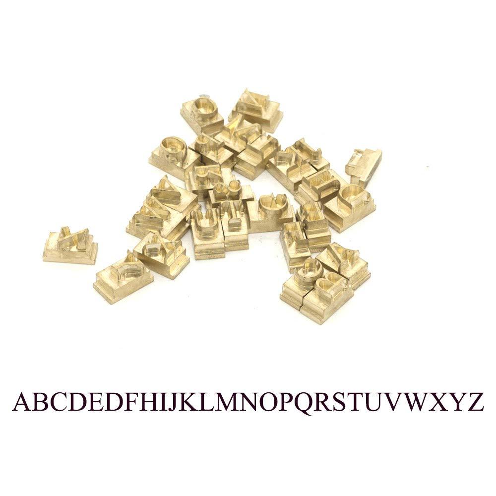 Low case Letters , Dutch801 Xbdit BT a~z Multi-Function Digital Foil Hot Stamping Logo Embossing Brass Alphabets Label Bronzing Machine Brass Leather Wood Stamp Embosser Tool Set