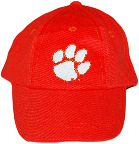 Clemson University Tigers Baby and Toddler Baseball Hat Orange - Ncaa Infant Wool
