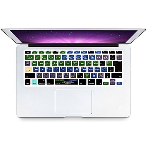 Serato Keyboard Shortcuts - HRH Serato DJ Hot key Function Shortcut Japanese Silicone Keyboard Cover Skin for MacBook Air 13