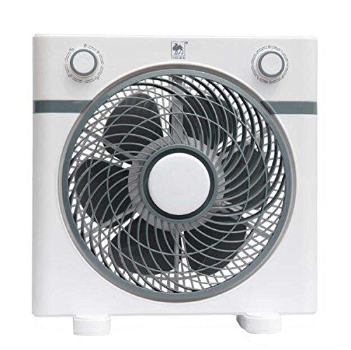 ジェネリック電気3スピード振動卓上ファン、12インチ、ホワイト ( Color : Gray )